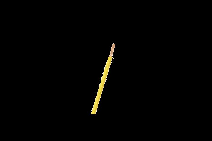 Cable eléctrico #12 THHN amarillo (m)