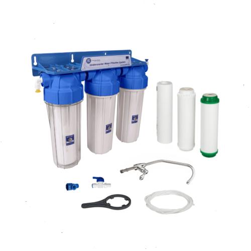 Filtro Purificador de agua 3 etapas